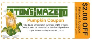 Pumpkin Coupon